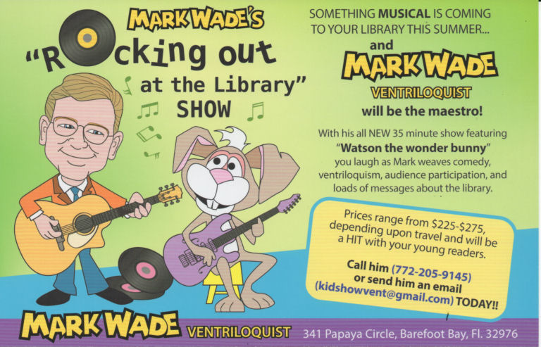 Mark Wade's 2018 Library Show
